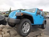 2017 Chief Blue Jeep Wrangler Unlimited Sport 4x4 #122498911