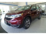2017 Basque Red Pearl II Honda CR-V LX AWD #122499002
