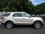 2017 White Gold Ford Explorer Limited 4WD #122498907