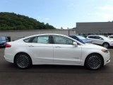 2017 White Platinum Ford Fusion Hybrid SE #122498897