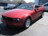 2006 Redfire Metallic Ford Mustang V6 Premium Convertible #12244468