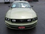 2006 Legend Lime Metallic Ford Mustang GT Premium Coupe #12244515