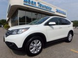 2013 White Diamond Pearl Honda CR-V EX AWD #122521465