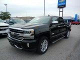 2018 Black Chevrolet Silverado 1500 High Country Crew Cab 4x4 #122540635