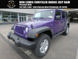 2017 Extreme Purple Jeep Wrangler Unlimited Sport 4x4 #122540593