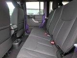 2017 Jeep Wrangler Unlimited Sport 4x4 Rear Seat