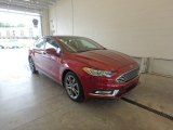 2017 Ruby Red Ford Fusion SE #122540490