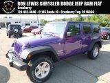 2017 Extreme Purple Jeep Wrangler Unlimited Sport 4x4 #122572305