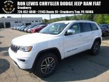 2017 Bright White Jeep Grand Cherokee Limited 4x4 #122572313
