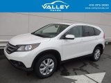 2014 White Diamond Pearl Honda CR-V EX AWD #122582716