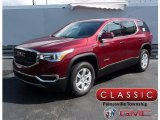 2018 Crimson Red Tintcoat GMC Acadia SLE AWD #122601487