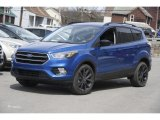 2017 Lightning Blue Ford Escape SE 4WD #122601380