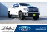 2016 Super White Toyota Tundra Limited CrewMax 4x4 #122601426