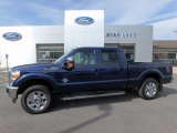 2012 Dark Blue Pearl Metallic Ford F250 Super Duty Lariat Crew Cab 4x4 #122601564