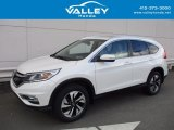 2015 White Diamond Pearl Honda CR-V Touring #122622841