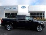 2017 Shadow Black Ford F150 Limited SuperCrew 4x4 #122623011