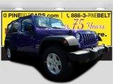 2017 Extreme Purple Jeep Wrangler Unlimited Sport 4x4 #122646147