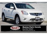 2013 Pearl White Nissan Rogue S #122646304