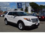2013 Oxford White Ford Explorer XLT 4WD #122646185