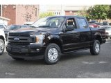 2018 Magma Red Ford F150 XL SuperCrew 4x4 #122646295