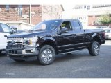 2018 Magma Red Ford F150 XLT SuperCab 4x4 #122646293