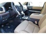 2018 Toyota Tundra Limited CrewMax 4x4 Sand Beige Interior