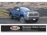 2018 Blazing Blue Pearl Toyota Tundra 1794 Edition CrewMax 4x4 #122646110