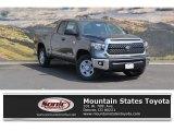 2018 Magnetic Gray Metallic Toyota Tundra SR5 Double Cab 4x4 #122646107