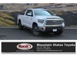 2018 Super White Toyota Tundra Limited Double Cab 4x4 #122646101
