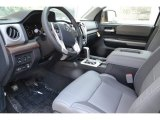 2018 Toyota Tundra Limited Double Cab 4x4 Graphite Interior