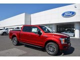 2018 Ruby Red Ford F150 XLT SuperCrew 4x4 #122646283