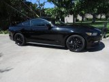 2015 Black Ford Mustang EcoBoost Premium Coupe #122646450