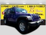2017 Extreme Purple Jeep Wrangler Unlimited Sport 4x4 #122646154