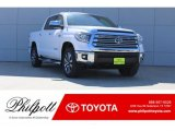 2018 Super White Toyota Tundra Limited CrewMax 4x4 #122671975
