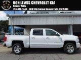 2018 Summit White Chevrolet Silverado 1500 LTZ Crew Cab 4x4 #122671937