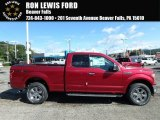2018 Ruby Red Ford F150 XLT SuperCab 4x4 #122671931