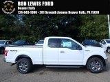 2018 Oxford White Ford F150 XLT SuperCab 4x4 #122671928