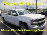 2016 Summit White Chevrolet Silverado 1500 LT Crew Cab 4x4 #122684325