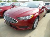 2017 Ruby Red Ford Fusion SE #122684401