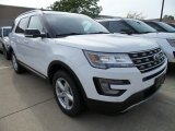 2017 Oxford White Ford Explorer XLT 4WD #122684400