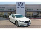 2018 Bellanova White Pearl Acura TLX V6 Sedan #122684157