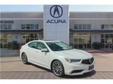 2018 Bellanova White Pearl Acura TLX V6 Sedan #122684155
