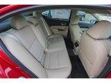 2018 Acura TLX Technology Sedan Rear Seat