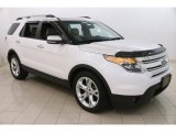 2011 White Platinum Tri-Coat Ford Explorer Limited #122684420