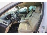 2018 Acura TLX V6 SH-AWD Technology Sedan Parchment Interior
