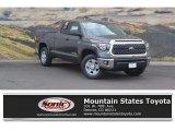 2018 Magnetic Gray Metallic Toyota Tundra SR5 Double Cab 4x4 #122704026