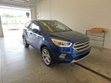 2017 Lightning Blue Ford Escape Titanium 4WD #122704055