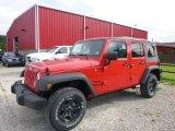 2017 Firecracker Red Jeep Wrangler Unlimited Sport 4x4 #122704085