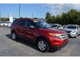 2013 Ruby Red Metallic Ford Explorer 4WD #122721560
