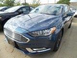 2018 Blue Metallic Ford Fusion SE #122721679